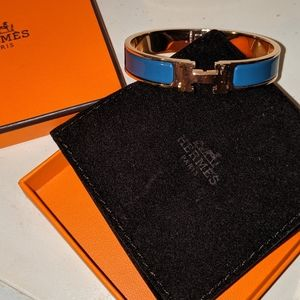RARE AUTHENTIC Hermes GM enamel bracelet